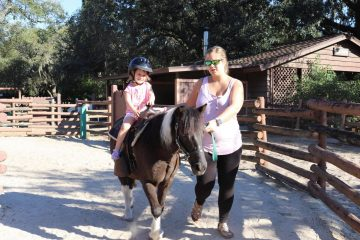 Fort Wilderness Pony Rides for Children 2 and up