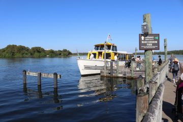 Fort Wilderness to Magical Kingdom by Boat