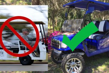 Fort Wilderness Golf Cart Rules and Regulations