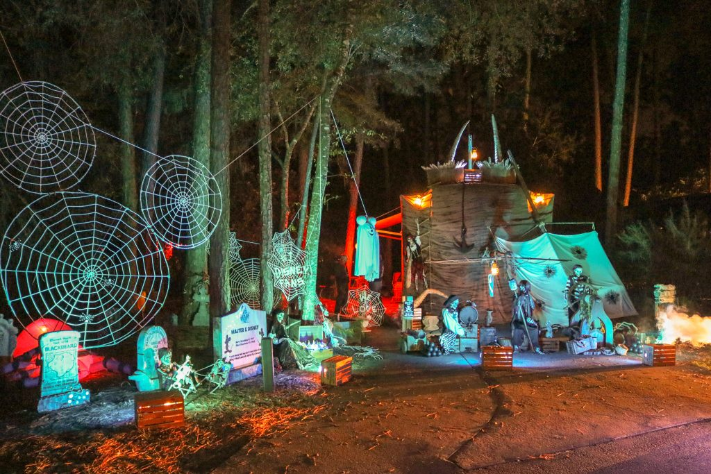 Pirate Themed RV Decorations for Disney's Fort Wilderness Halloween